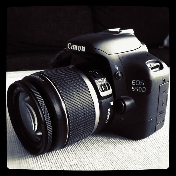 My new camera, Canon EOS 550D