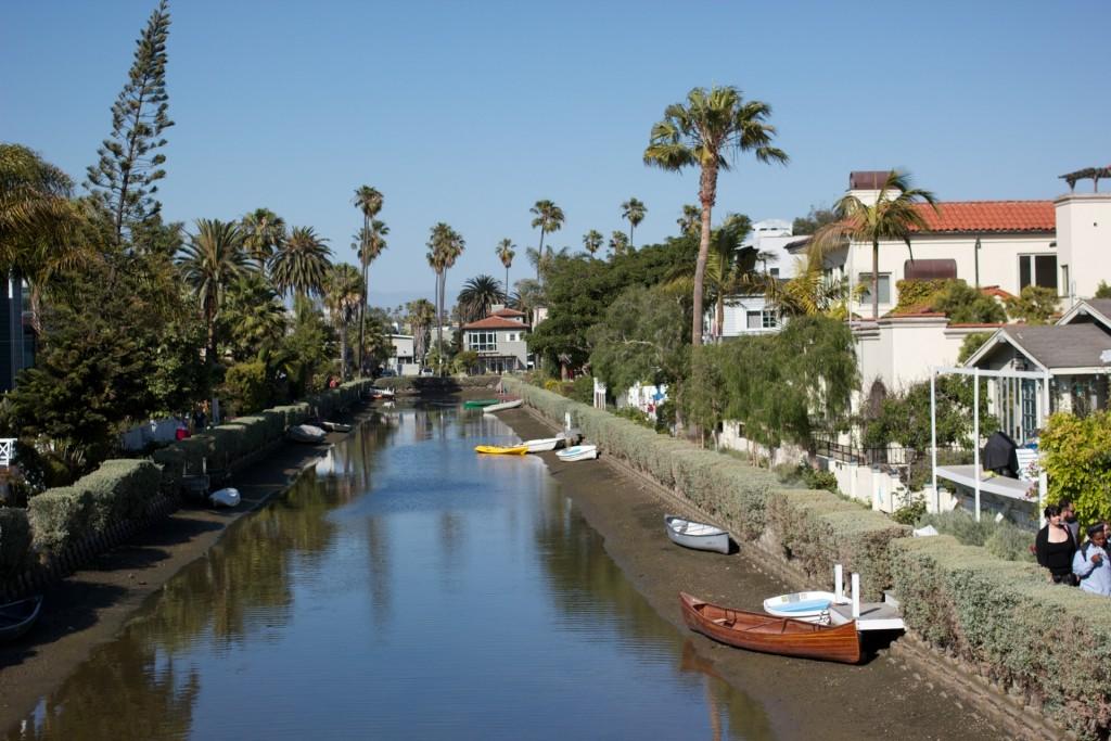 Kanalerna i Venice