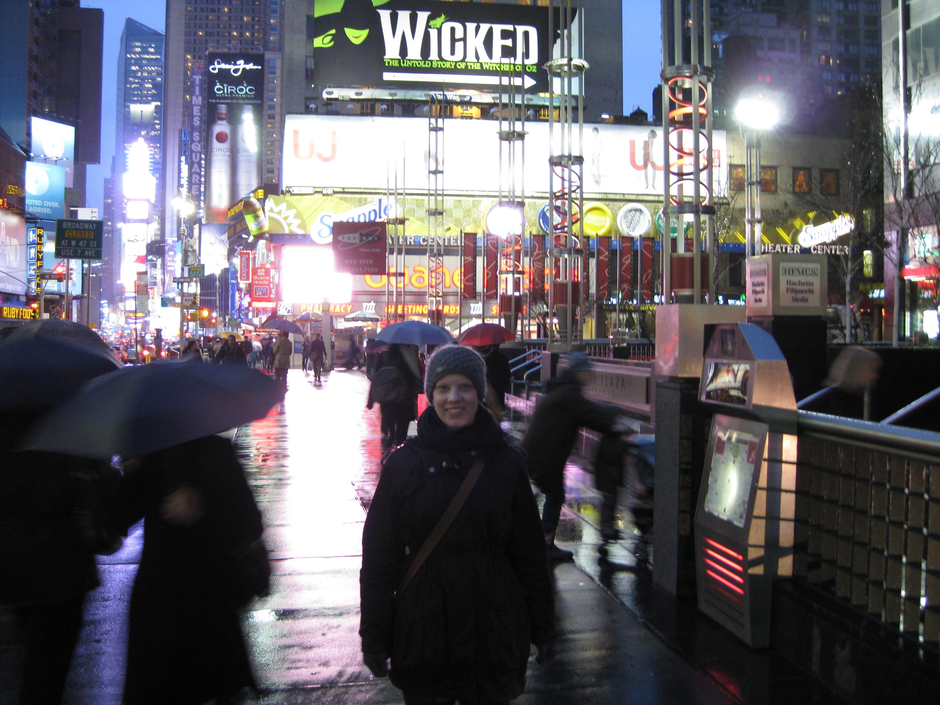Jag på Broadway