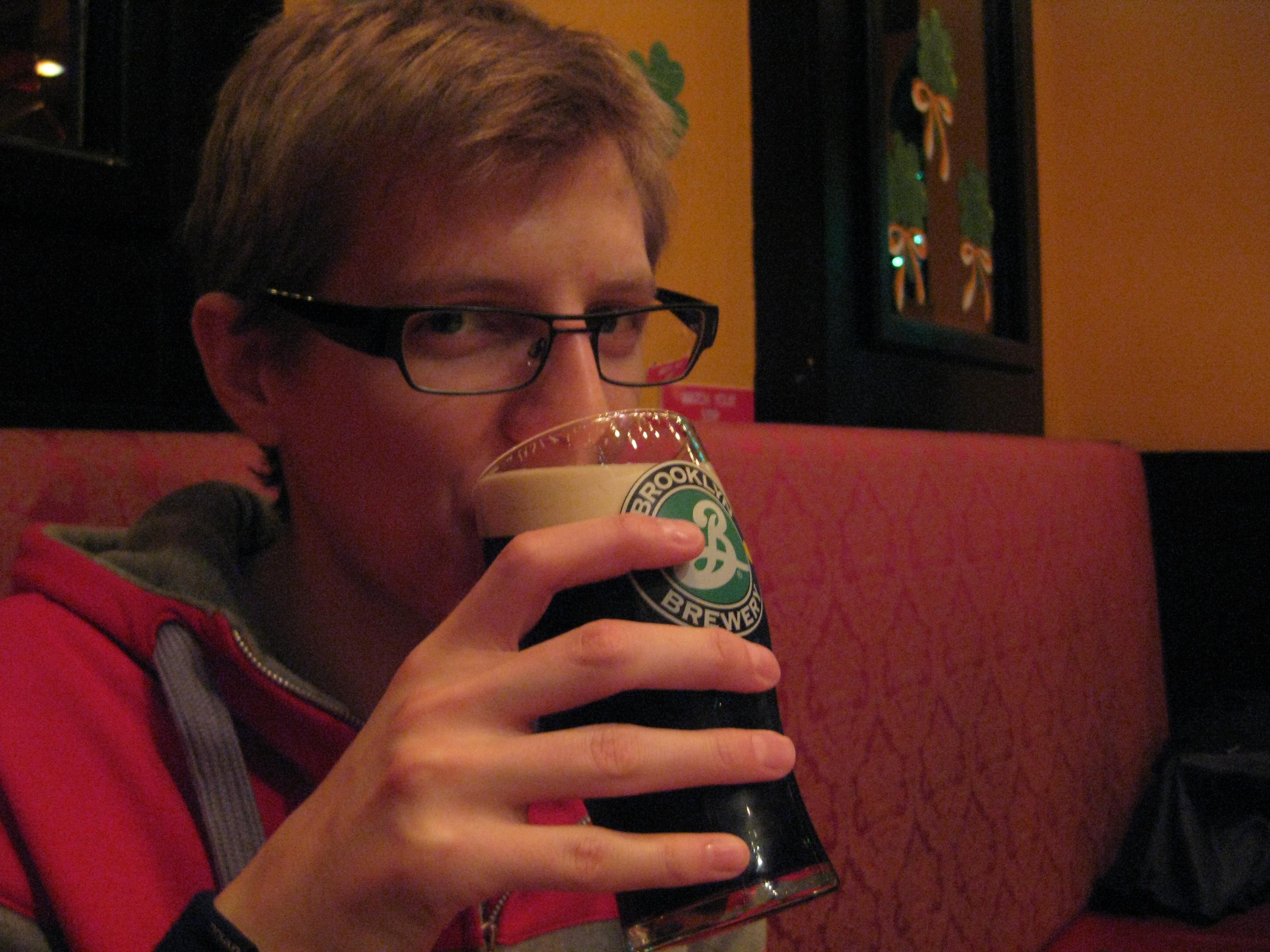 Lunch och Guinness