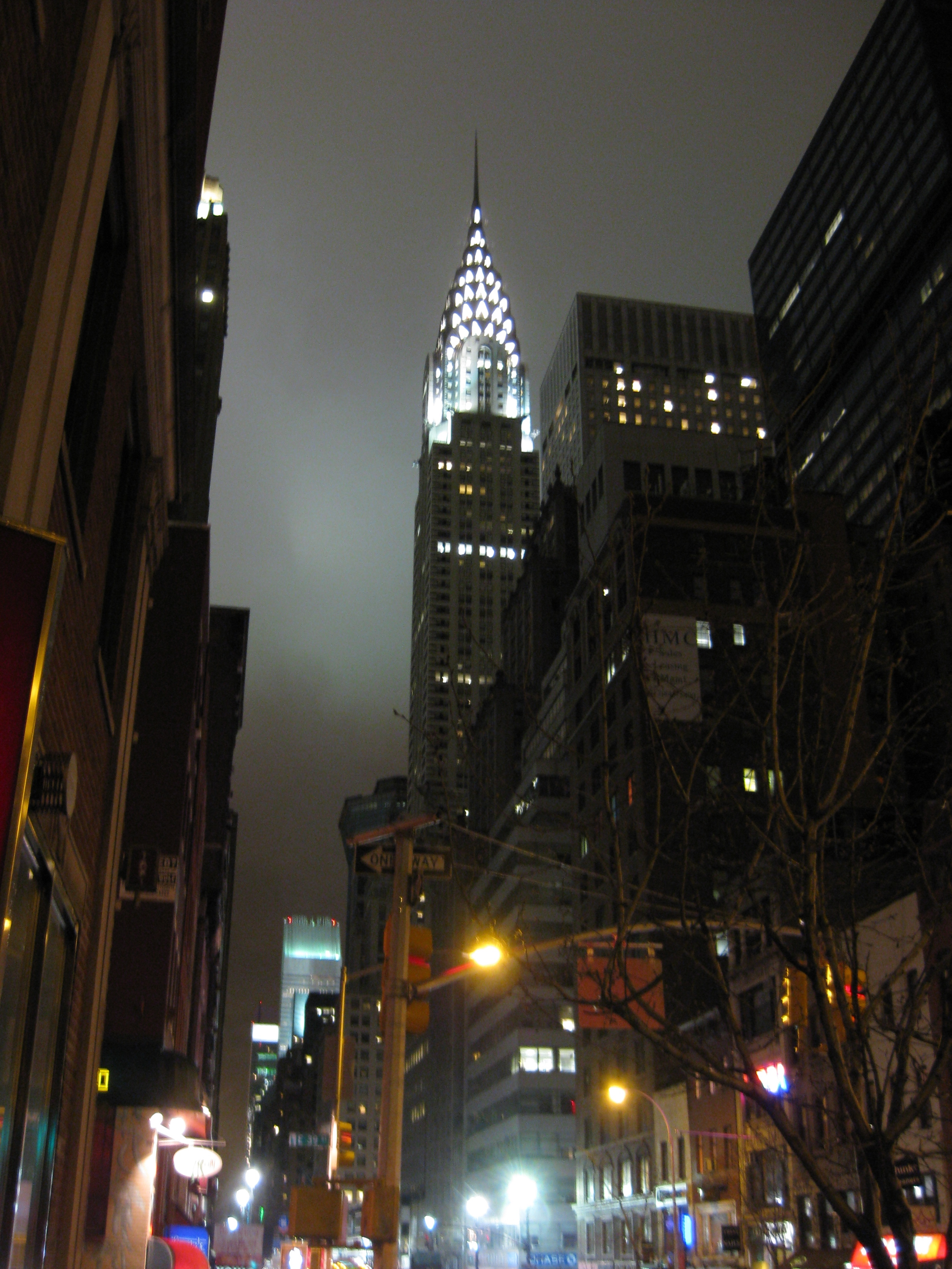 Chrysler Building nattetid